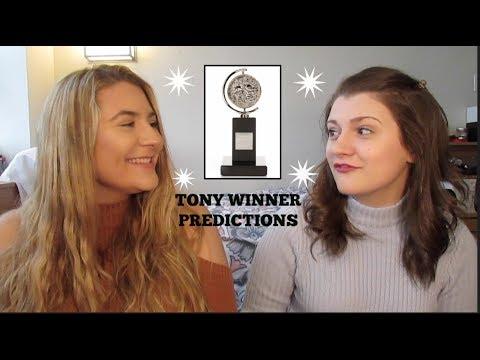 2017 Tony Award WINNER Predictions!