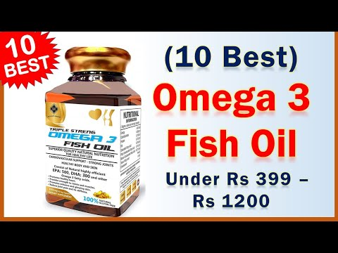 10 Best Omega 3 Fish Oil Brand Under Rs 399 - Rs 1200 | Fish Oil Supplement In India