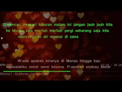 Karaoke Ke Monas Rhoma Irama ft. Elvy Sukaesih no Vocal HQ Audio