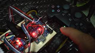 Download #2 Arduino uno robot with ps2 controller | how to connect your receiver (playstation)
