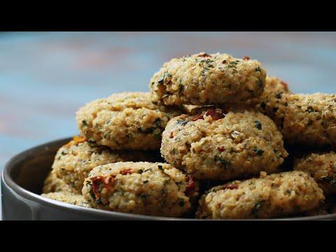High-Protein Baked Quinoa Bites