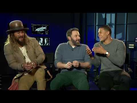 Sarina Bellissimo s Jason Momoa, Ben Affleck & Ray Fisher JUSTICE LEAGUE