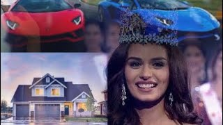 Luxurious Miss world 2017 Manushi Chillar #Lifestyle #cars #House