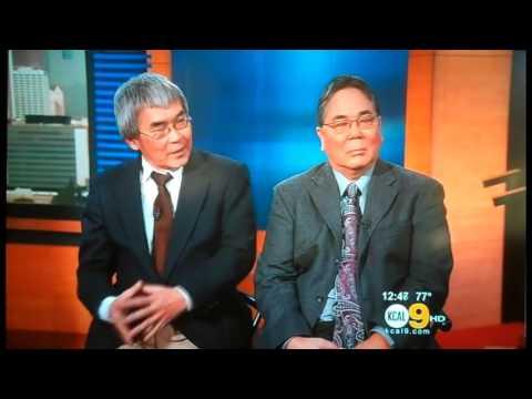 'The Manzanar Fishing Club'  Interview On KCAL 9 LA