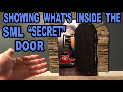 WHAT IS NOW INSIDE THE SECRET DOOR!!