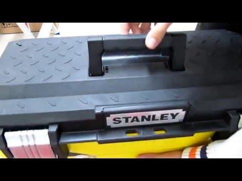 Metal/ Plastic Toolbox Stanley 1-95-613