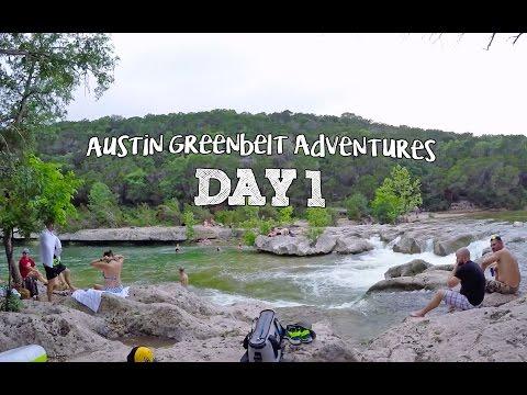 Austin Greenbelt Adventures Day 1 (1440p)   Feiyu G4 3-Axis Gimbal #slowtv