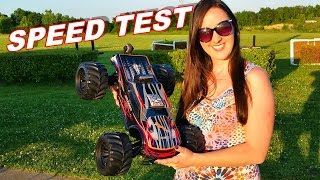 "JLB Racing CHEETAH ""SPEED TEST"" 1/10 Brushless RC Monster Truck - TheRcSaylors"