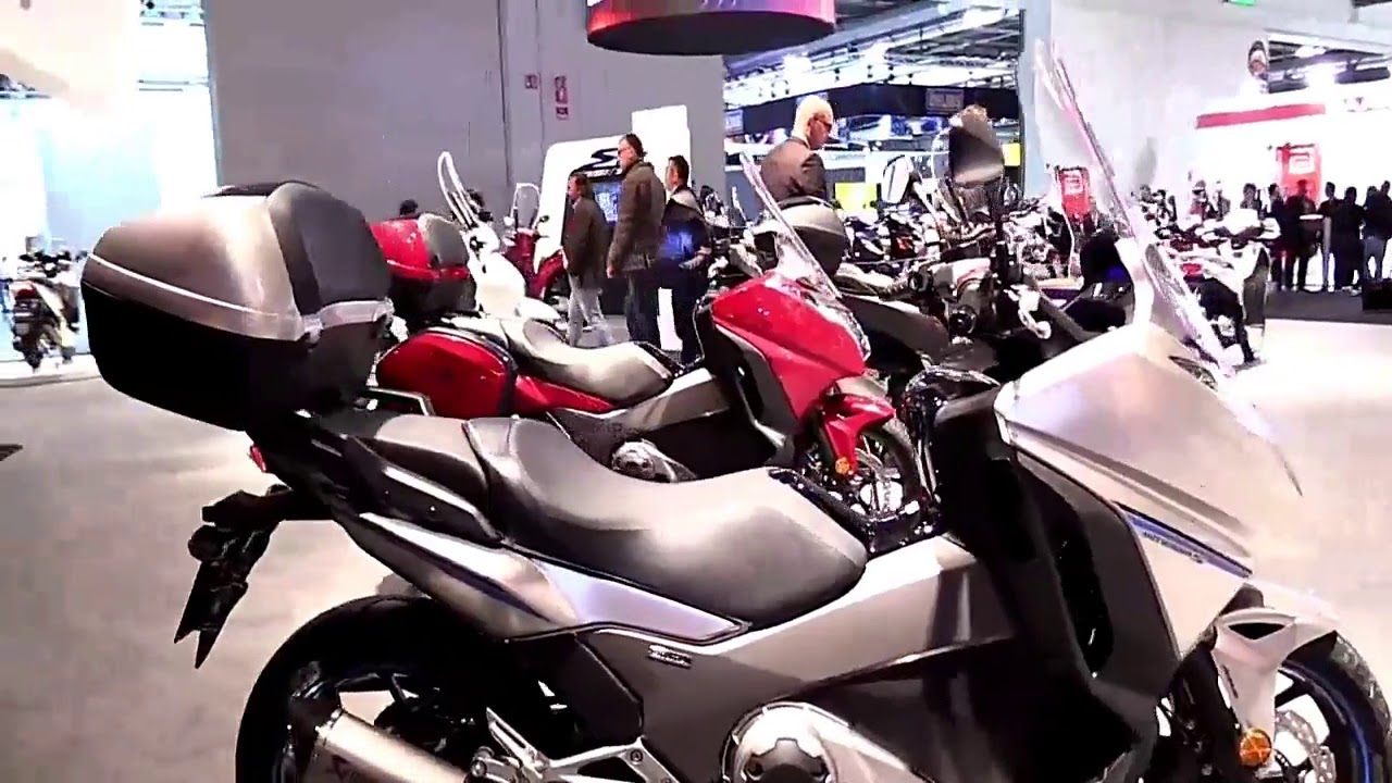2019 Honda Integra 750 DCT ABS Complete Accs Series Lookaround Le Moto Around The World - YouTube