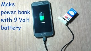 How to make power bank with 9 volt battery thumbnail