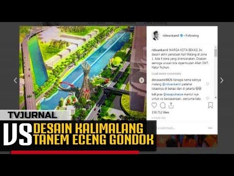 VIRAL ! Kang Emil Bocorkan Desain Kalimalang , Anies Diem-diem Bae ?