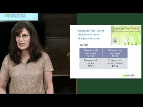 Marsha Walton: Promoting Energy Efficiency and Conservation Using Behavior Principles and CBSM