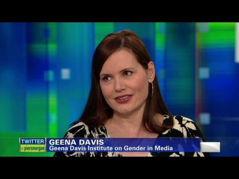 Geena Davis: females treated unfairly