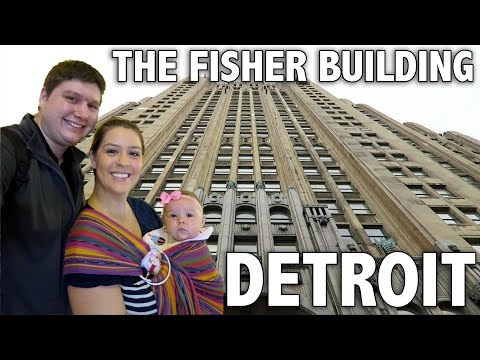 FISHER BUILDING TOUR : Vlogmas Day 23