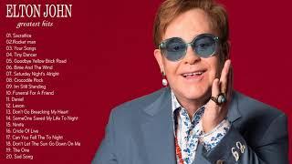 Elton John Greatest Hits - Best Songs of Elton John (HQ)