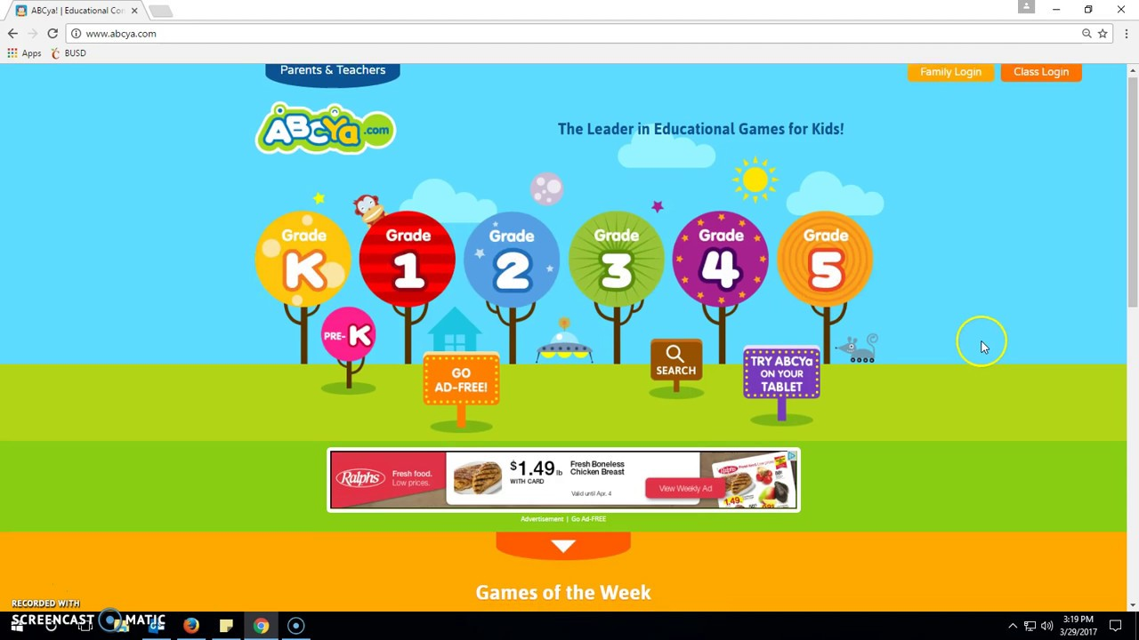 Abcya 4th Grade Educational Computer Games And Apps For