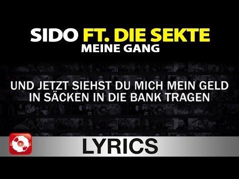 SIDO FEAT. DIE SEKTE - MEINE GANG - AGGROTV LYRICS KARAOKE (OFFICIAL VERSION)