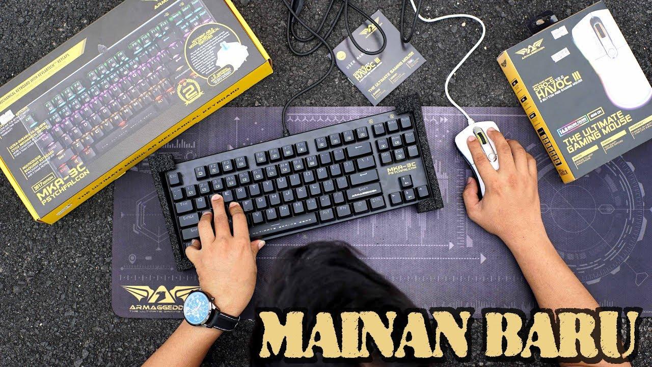 Armaggeddon Mka 3c Psychfalcon Gaming Keyboard