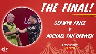 2020 UK Open Final - Gerwyn Price v Michael van Gerwen - Highlights