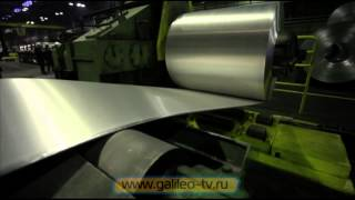 Галилео. Алюминий (ч.2)(977 от 10.10.2012 Мы продолжаем свой рассказ про производство алюминия на Саяногорском заводе. В этом сюжете..., 2012-10-21T12:15:16.000Z)