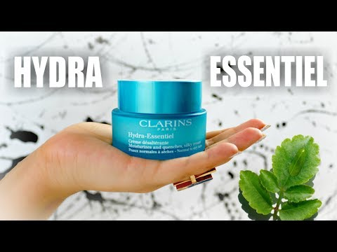 CLARINS HYDRA ESSENTIEL MOISTURIZER! Skincare Specialist Review ~Product Talks~