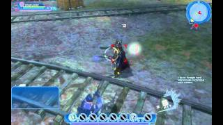 DC Universe gameplay BETA