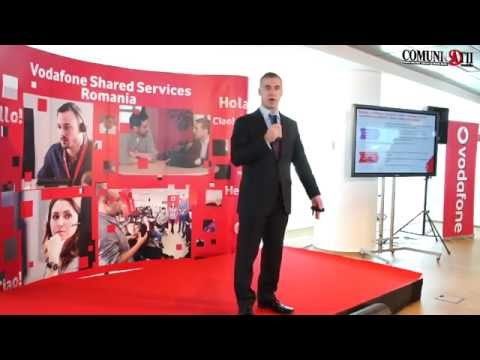 Vodafone Group has 13.000 employees in Shared Services