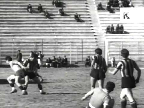 1940s La Paz Bolivia, Football Match, Crowds, Sports