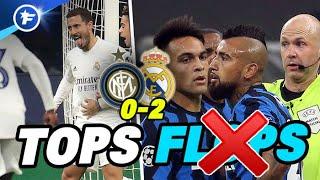 Inter-Real (0-2) : Eden Hazard enfin au rendez-vous, Arturo Vidal pète les plombs | Tops et Flops