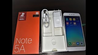 Xiaomi Redmi Note 5a unboxing and first look= FN Mobile Zone