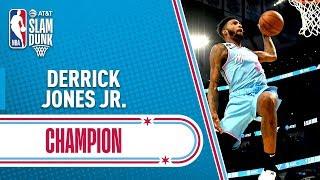Derrick Jones Jr. WINS #ATTSlamDunk   2020 NBA All-Star