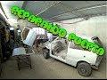 Masillando puertas | fiat uno scv | Restauración