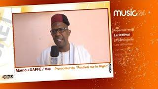 """MUSIC 24 - Niger: Mamou DAFFE, Promoteur du """"Festival sur le Niger"""""""