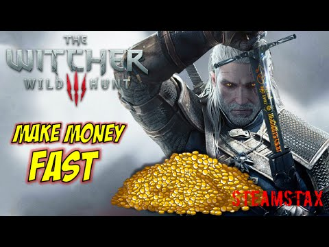 how to make money in the witcher 3