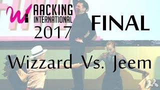 Waacking International 2017 - 결승 / Wizzard vs Jeem