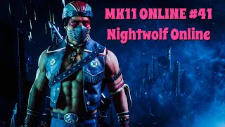 MK11 ONLINE #42 - Nightwolf (Online and Lab Practice)