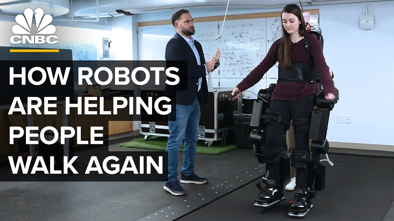 How Robots can help People with Disabilities walk again