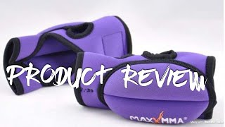MaxxMMA Weighted Sculpting Gloves - Open Finger, 0.75 lb. x 2 - Product Review