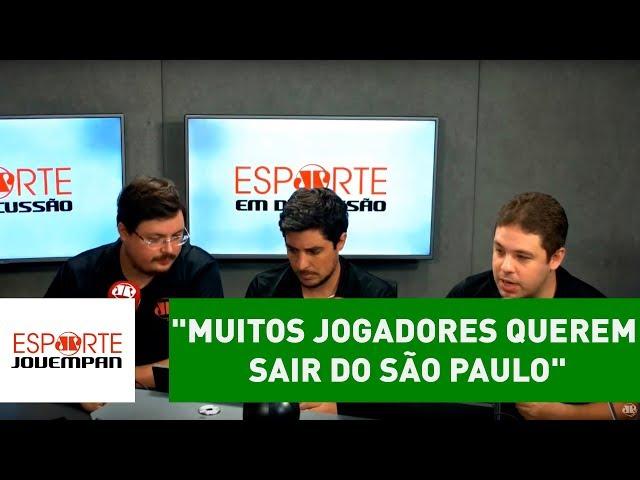 """""""Muitos jogadores QUEREM SAIR do SÃO PAULO"""", diz BRUNO PRADO"""