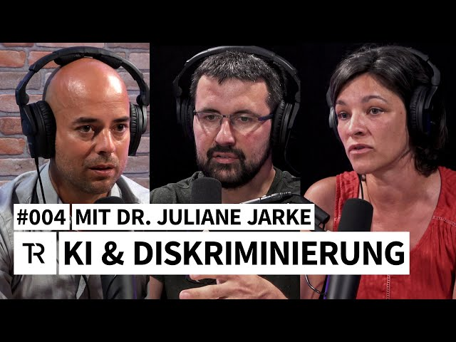 #004 - KI & Diskriminierung - mit Dr. Juliane Jarke // THINK REACTOR // Der KI-Podcast
