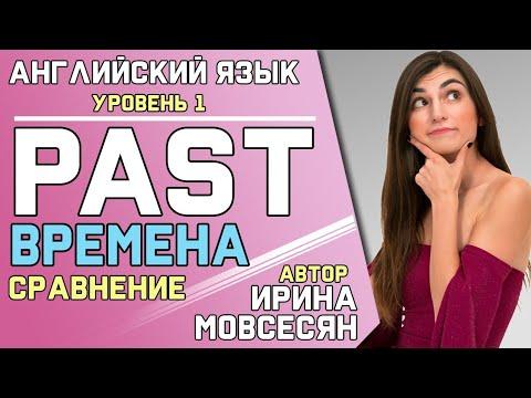 59. Английский: PAST SIMPLE / PAST PERFECT / PAST CONTINUOUS / PAST PERFECT CONTINUOUS / Ирина ШИ