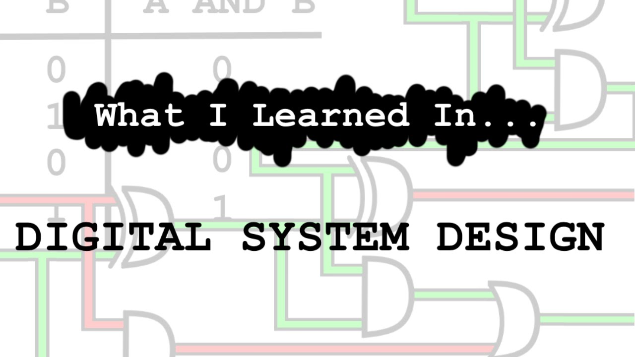 What I Learned In Digital System Design Youtube