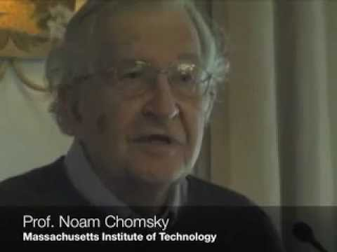 Noam Chomsky urges University of Arizona Divest from Caterpillar and Motorola