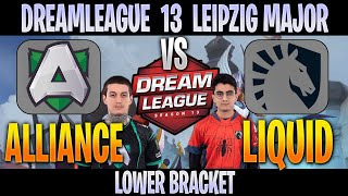 Alliance vs Team Liquid | Bo3 | LB DreamLeague 13 The Leipzig Major | DOTA 2 LIVE | NO CASTER