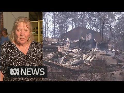 Bushfires ravage Tathra, NSW