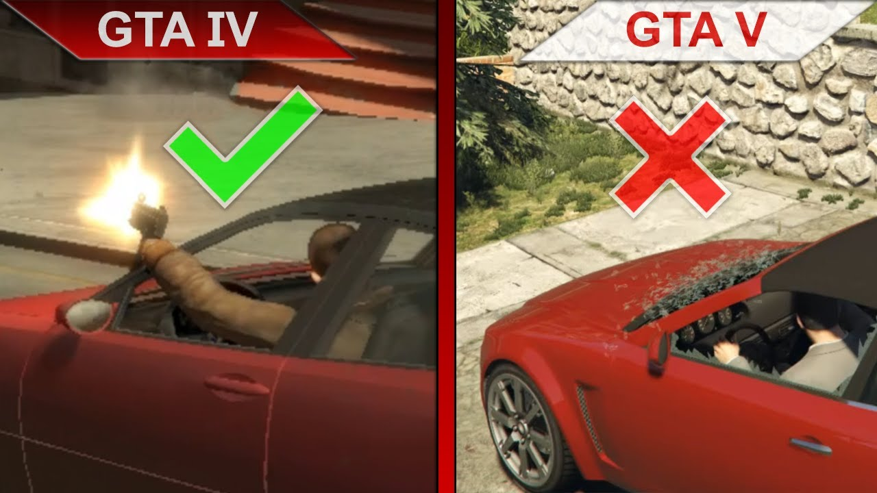 ATTENTION TO DETAILS 3   GTA IV vs. GTA V   PC   ULTRA