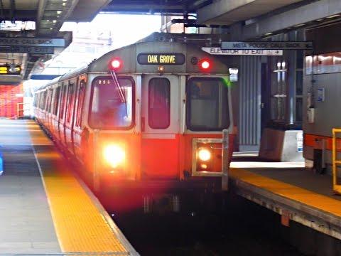 🚇/💺 MBTA (Boston): ORANGE Line (Subway) to Forest Hills... FULL RIDE!