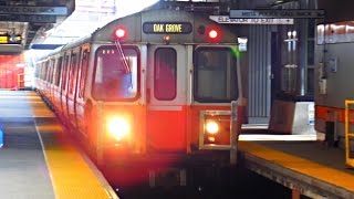 MBTA (Boston): ORANGE Line (Subway) to Forest Hills... FULL RIDE!