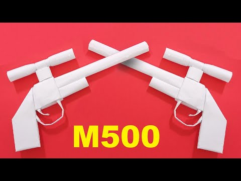Cách Làm Súng Bằng Giấy M500, mp40, ak47, awm, m1887, vector ...