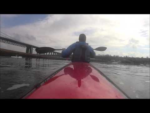 knysna genius blu Port Edgar Forth surfski training